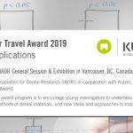 Βραβείο IADR / KULZER TRAVEL AWARD 2019: Η φάση των αιτήσεων ξεκίνησε