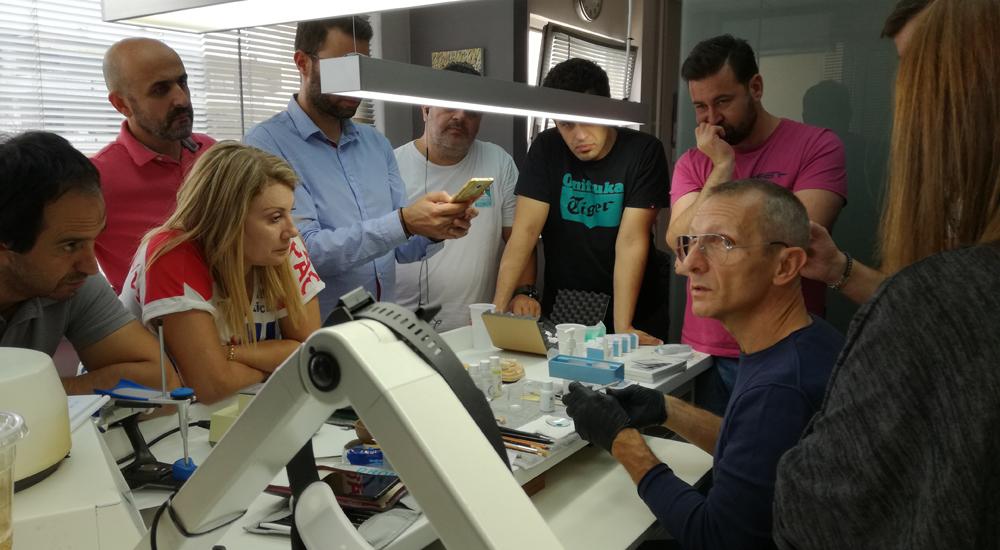 Σεμινάριο για την Εξατομικευμένη ζιρκονία επί εμφυτευμάτων στο Stavrou Dental Lab
