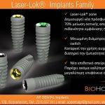BioHorizons Laser-Lok Implants Family